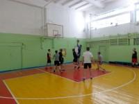Первенство техникума по баскетболу
